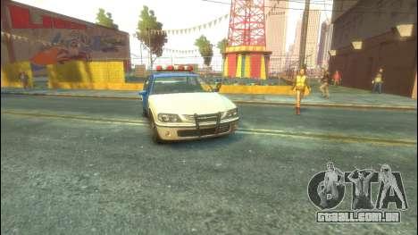 Polícia de GTA 5 para GTA 4 esquerda vista