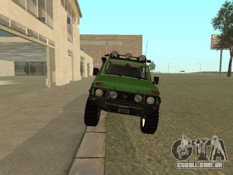 VAZ 21213 Niva 4x4 Off Road para GTA San Andreas vista direita