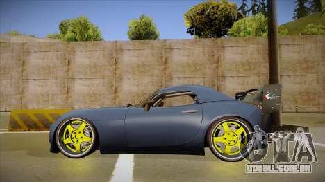 Pontiac Solstice Rhys Millen para GTA San Andreas traseira esquerda vista