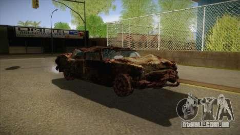 New Glenshit para GTA San Andreas vista traseira