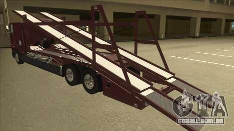 International 9700 Car Hauler para GTA San Andreas vista traseira