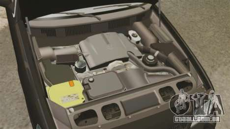 Ford Crown Victoria 2008 FBI para GTA 4 vista interior