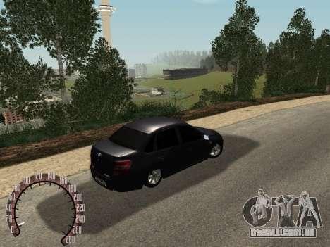 VAZ 2190 para GTA San Andreas esquerda vista