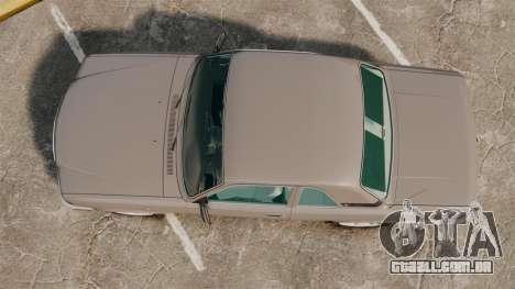 Volga GAZ-3110 Coupe para GTA 4 vista direita