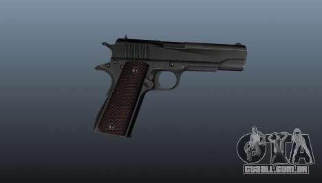 Pistola M1911 v5 para GTA 4 terceira tela