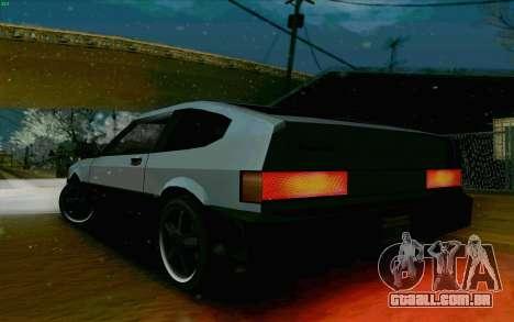 Blista Compact Type R para GTA San Andreas vista traseira