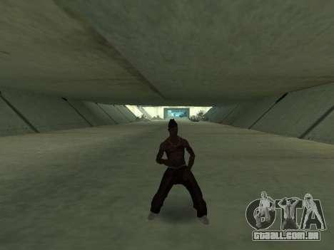Eles dançam para GTA San Andreas segunda tela