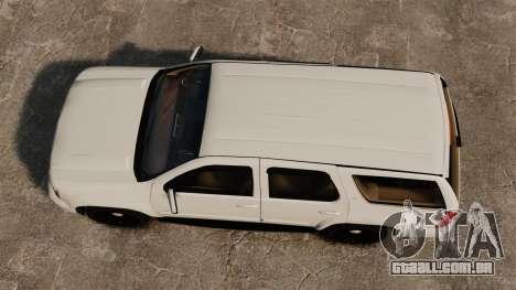 Chevrolet Tahoe Slicktop [ELS] v1 para GTA 4 vista direita