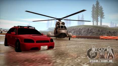 Subaru Legacy Wagon Hellaflush para GTA San Andreas