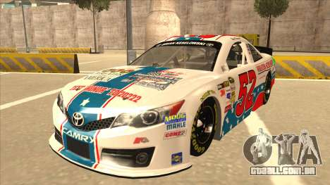 Toyota Camry NASCAR No. 52 TruckerFan para GTA San Andreas