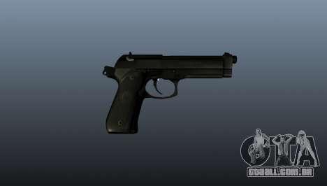 Beretta M9 pistola para GTA 4 terceira tela