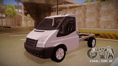 Ford Transit Drift Car para GTA San Andreas