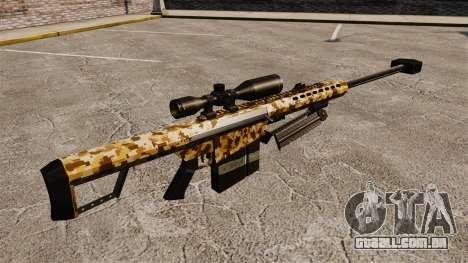 O Barrett M82 sniper rifle v10 para GTA 4 segundo screenshot
