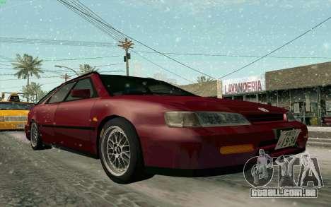 Honda Accord Wagon para GTA San Andreas vista interior