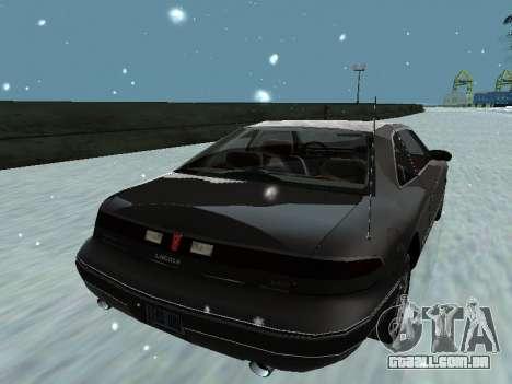 Lincoln Continental Mark VIII 1996 para o motor de GTA San Andreas