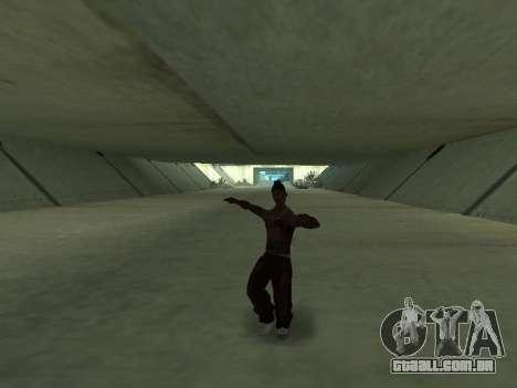 Eles dançam para GTA San Andreas por diante tela