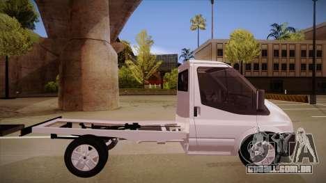 Ford Transit Drift Car para GTA San Andreas traseira esquerda vista