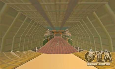 Andromada GTA V para GTA San Andreas vista superior