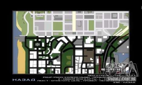 GTA V atlas map para GTA San Andreas segunda tela