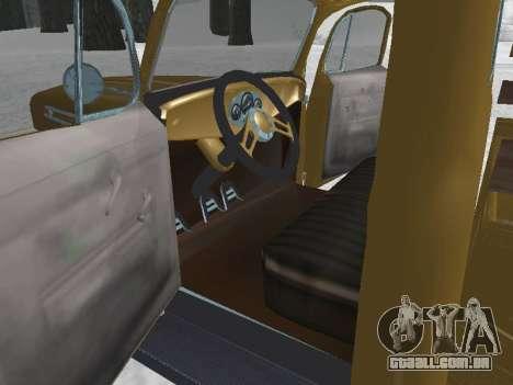 Ford Frieghter 1949 para GTA San Andreas vista direita