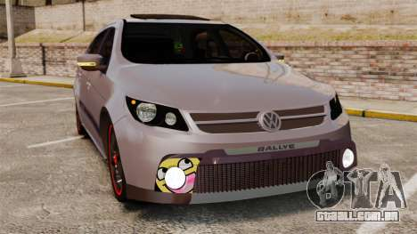 Volkswagen Gol Rally 2012 Socado Turbo para GTA 4