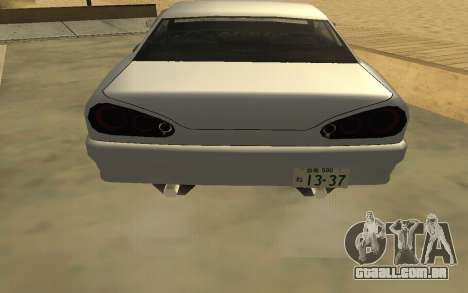 GTA V to SA: Realistic Effects v2.0 para GTA San Andreas oitavo tela