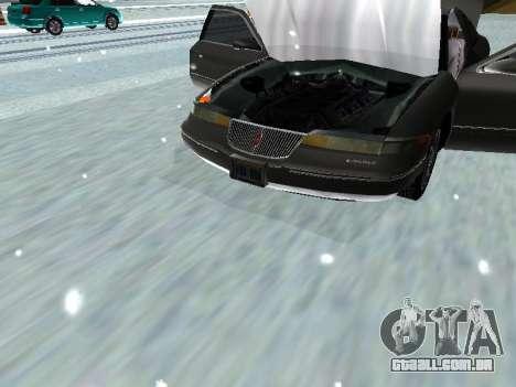 Lincoln Continental Mark VIII 1996 para GTA San Andreas vista traseira