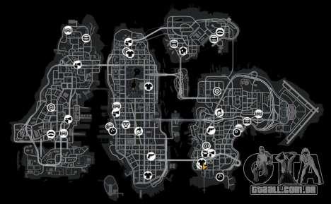 Garagem para GTA 4 quinto tela