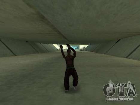 Eles dançam para GTA San Andreas sexta tela