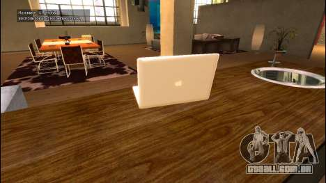 O MacBook Air para GTA 4 segundo screenshot