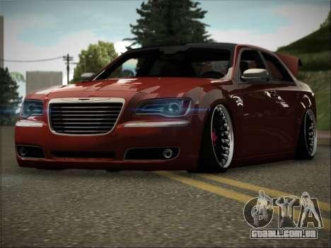Chrysler 300C Stance para GTA San Andreas vista traseira