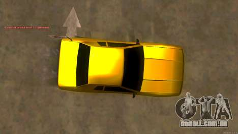 New Elegy para GTA San Andreas vista direita