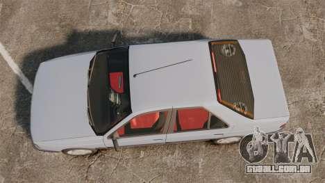Peugeot 405 GLX Final para GTA 4 vista direita