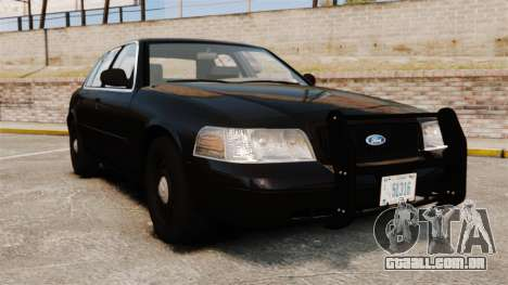 Ford Crown Victoria 2008 FBI para GTA 4