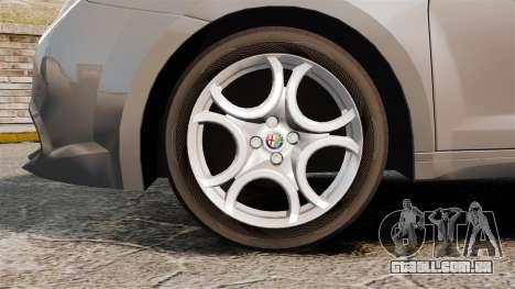 Alfa Romeo MiTo para GTA 4 vista de volta