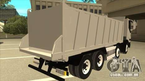 Oi-terra caminhão Iveco para GTA San Andreas vista direita