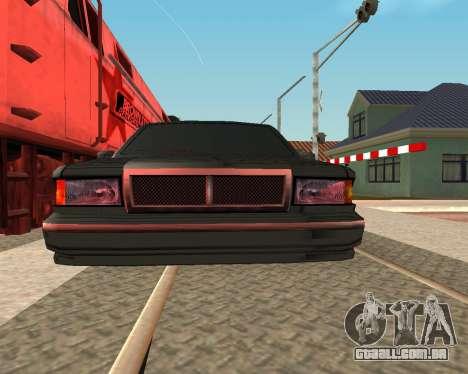Tonificado Premier V2 para GTA San Andreas traseira esquerda vista