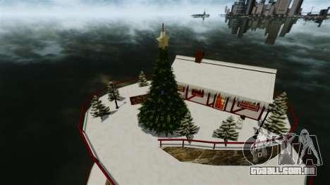 Ilha Christmas para GTA 4 terceira tela