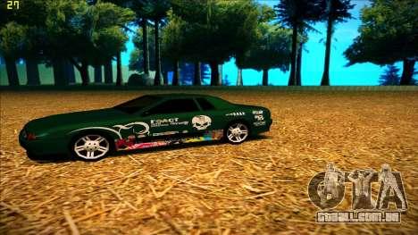 New paintjob for Elegy para GTA San Andreas segunda tela