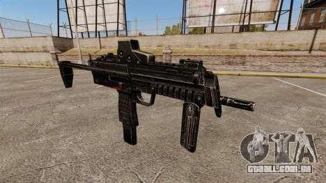 V1 de pistola-metralhadora HK MP7 para GTA 4