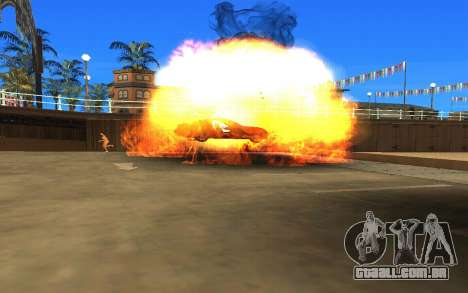 GTA V to SA: Realistic Effects v2.0 para GTA San Andreas quinto tela