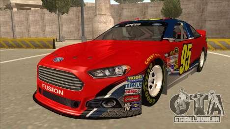 Ford Fusion NASCAR No. 95 para GTA San Andreas