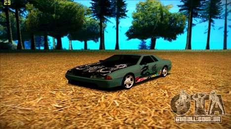 New paintjob for Elegy para GTA San Andreas terceira tela