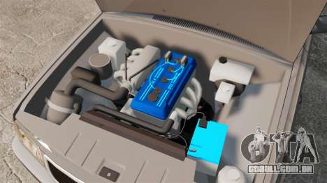 Volga GAZ-3110 Coupe para GTA 4 vista interior