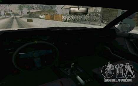 Blista Compact Type R para GTA San Andreas vista interior