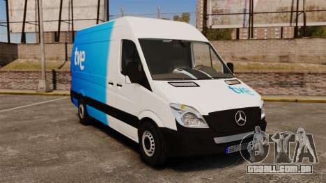 Mercedes-Benz Sprinter Spanish Television Van para GTA 4