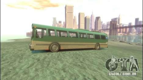 Ônibus de GTA 5 para GTA 4 esquerda vista