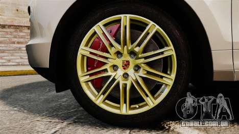 Porsche Cayenne Turbo 2012 v3.5 para GTA 4 vista de volta