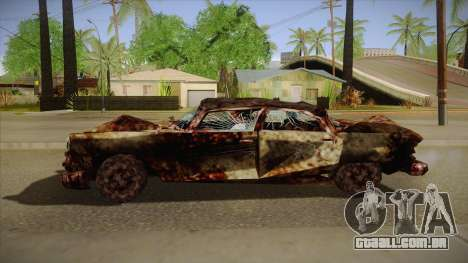 New Glenshit para GTA San Andreas esquerda vista