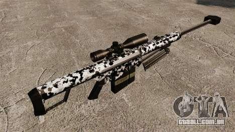 O Barrett M82 sniper rifle v16 para GTA 4 segundo screenshot